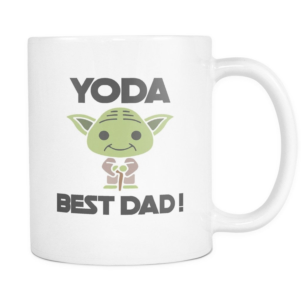 Yoda Best Dad, Drinkware, teelaunch, Viper Coffee