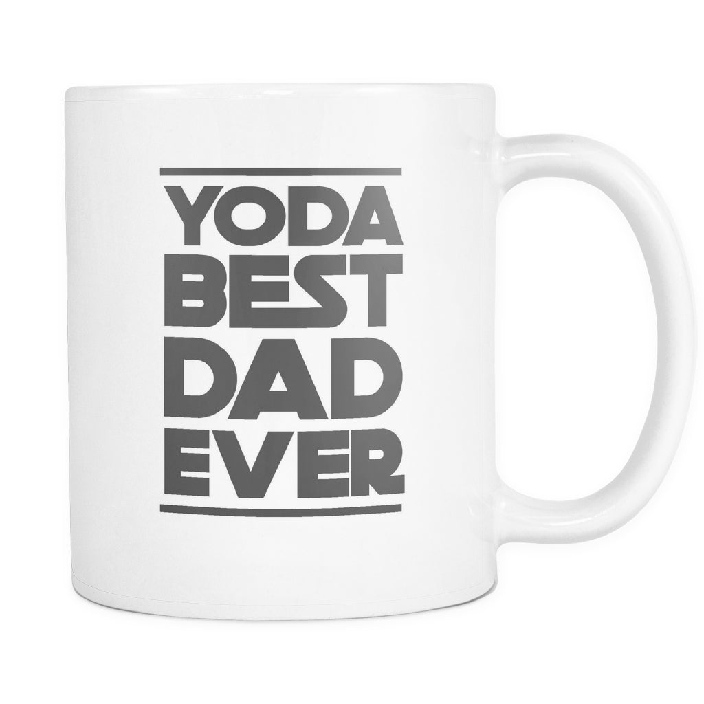 Yoda Best Dad Ever, Drinkware, teelaunch, Viper Coffee