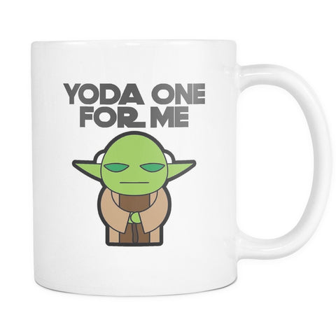 Yoda One For Me, Drinkware, teelaunch, Viper Coffee