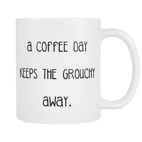 A Coffee A Day Mug, Drinkwear, teelaunch, Viper Coffee