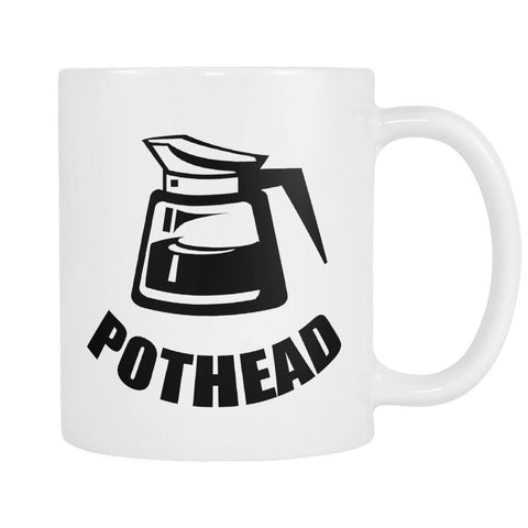 Pot Head - Coffee Mug, Drinkwear, teelaunch, Viper Coffee