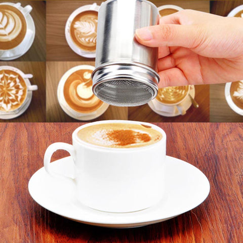 Stainless Steel Chocolate Sugar Shaker, , Aliexpress, Viper Coffee