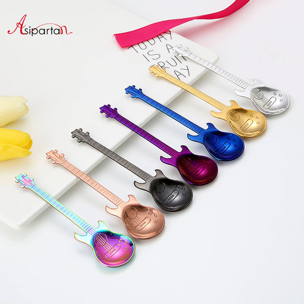 Stainless Steel Guitar Coffee Stirring Spoon, , Aliexpress, Viper Coffee