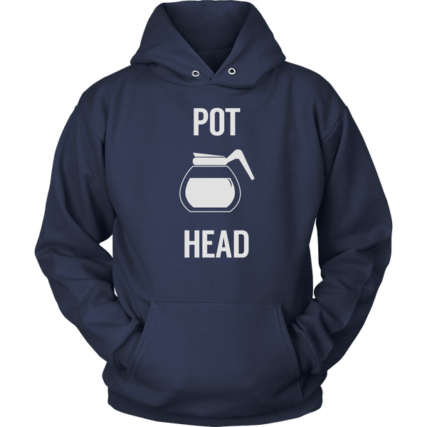 Pot Head Sweatshirt, T-shirt, teelaunch, Viper Coffee