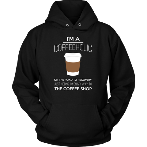 Coffeeholic Sweatshirt, T-shirt, teelaunch, Viper Coffee