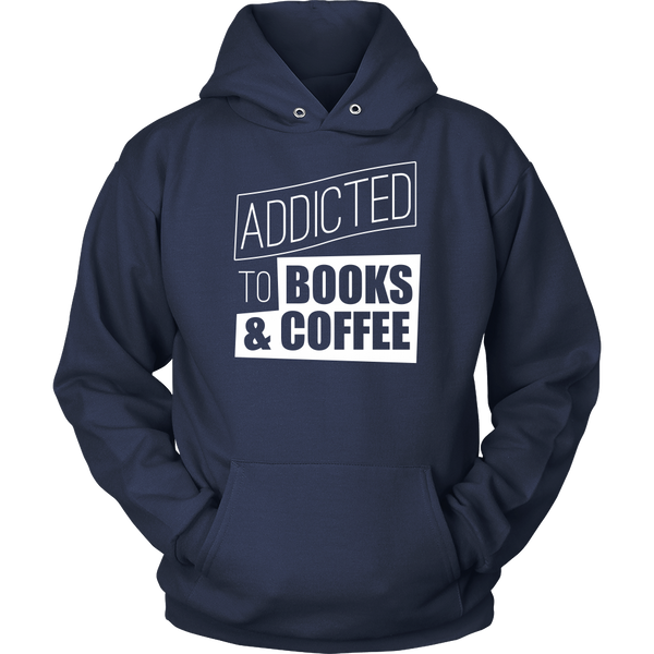 Addicted To Books & Coffee Sweatshirt