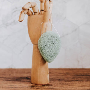Package free Konjac sponge - green clay