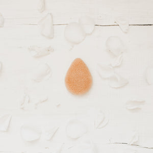 Package free Konjac sponge - pink clay
