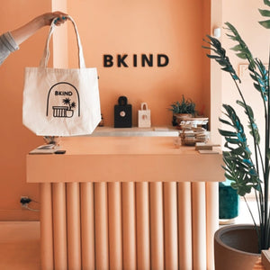 Natural Cotton Tote Bag - Montreal's Most Instagrammable store