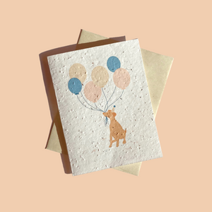 Plantable card - It's your birthday