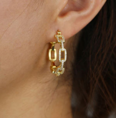 Hugo earrings