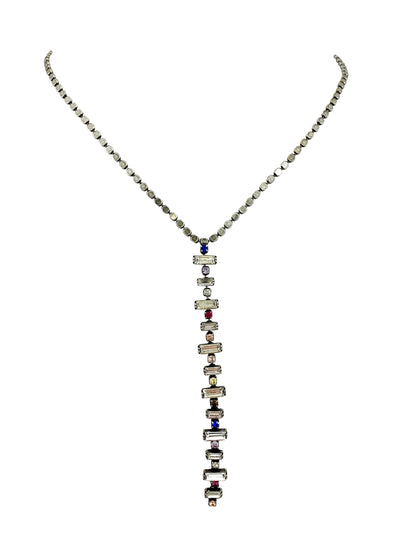 Gaia lariat necklace