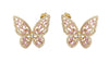Roxy butterfly earrings