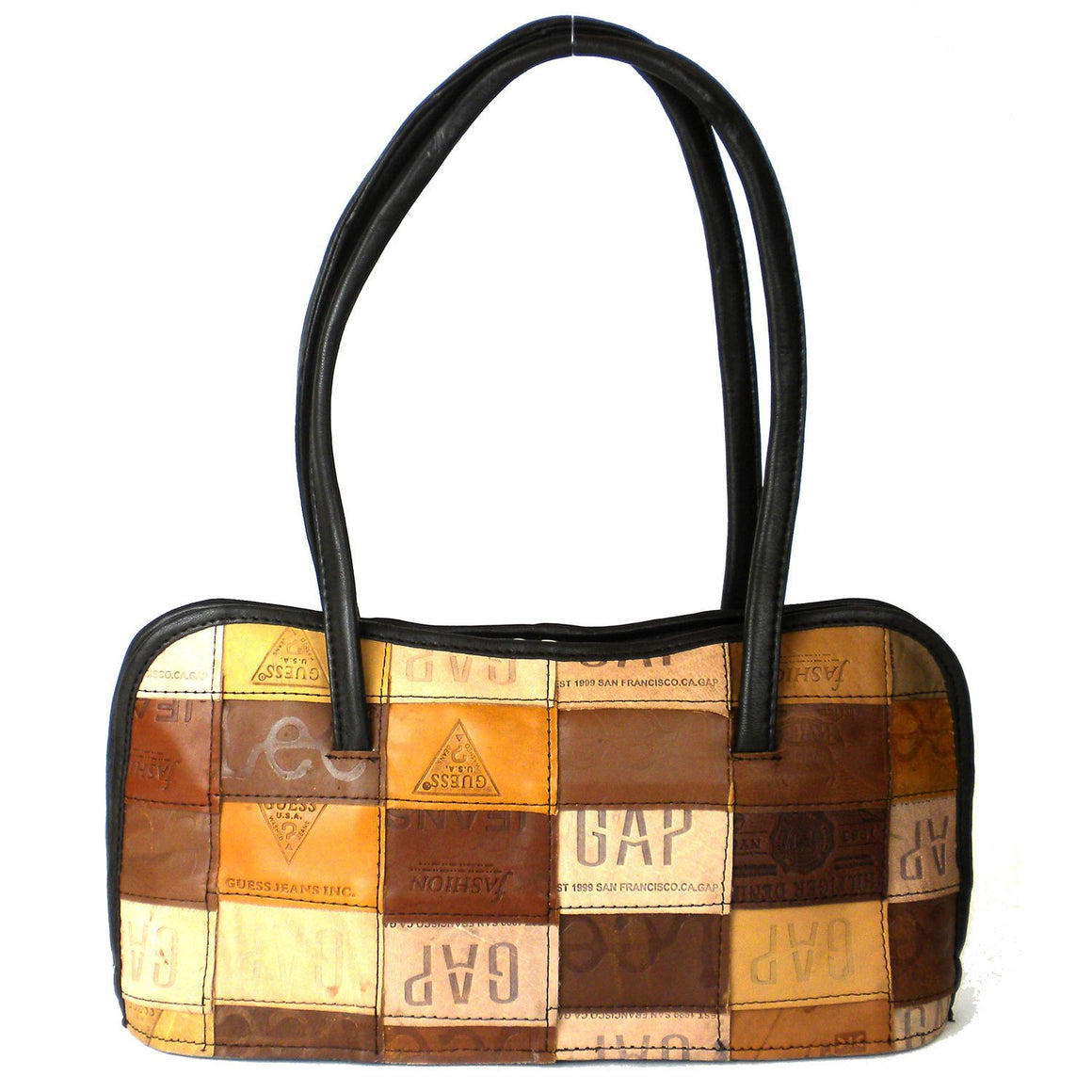 Leather Label Anarkali Bag Handmade and Fair Trade
