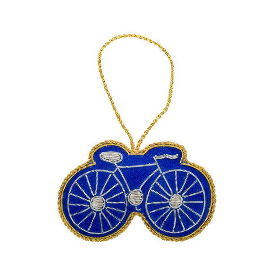 Larissa Plush Ornament - Bicycle - Matr Boomie (H)