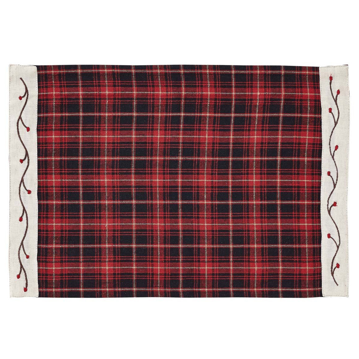 Seasons Greetings Placemat Set of 6 12x18