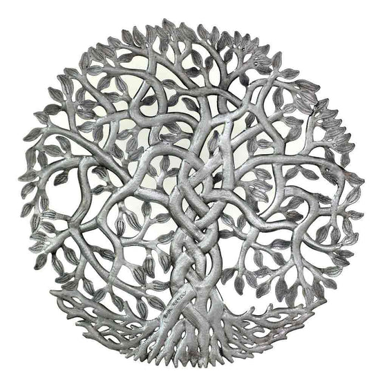 Entangled Tree of Life Wall Art - Croix des Bouquets