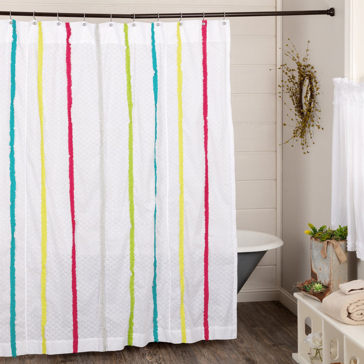 Everly Shower Curtain 72x72