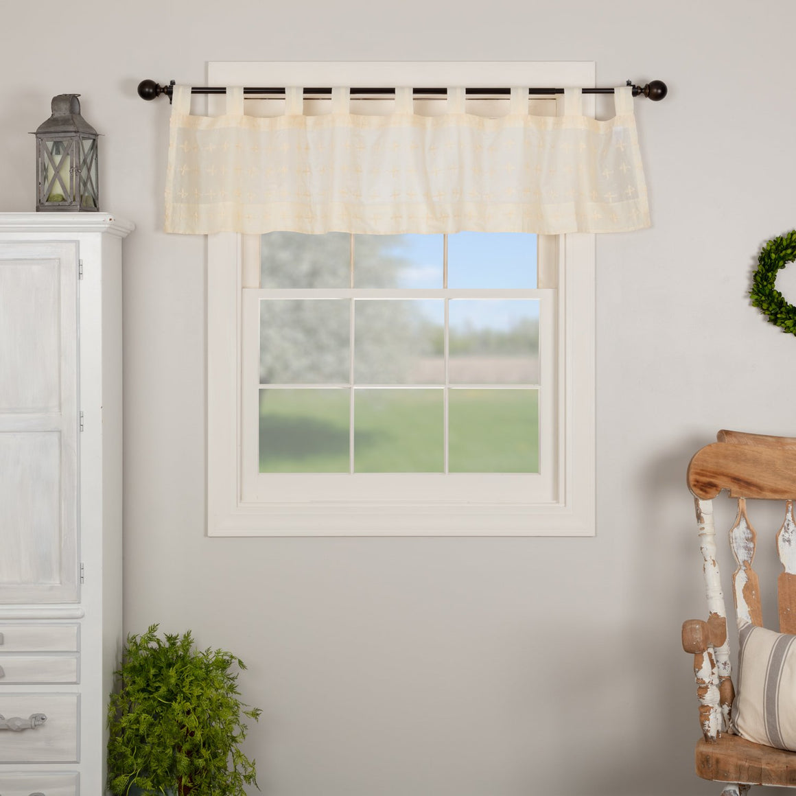 Willow Tab Top Valance