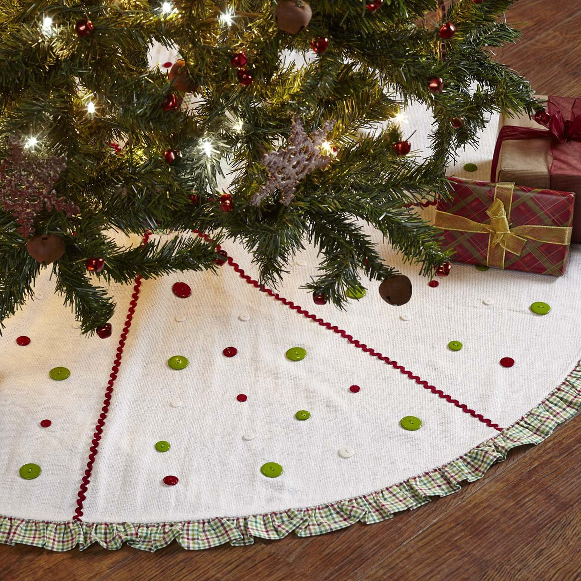 Whimsical Christmas Tree Skirt 48
