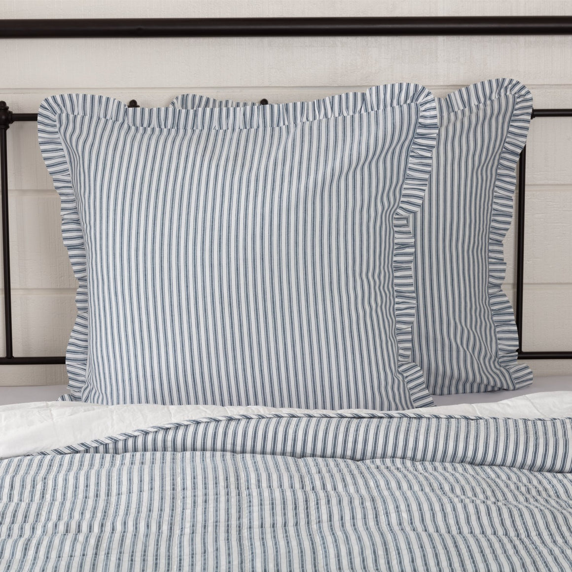 Sawyer Mill Ticking Stripe Euro Sham