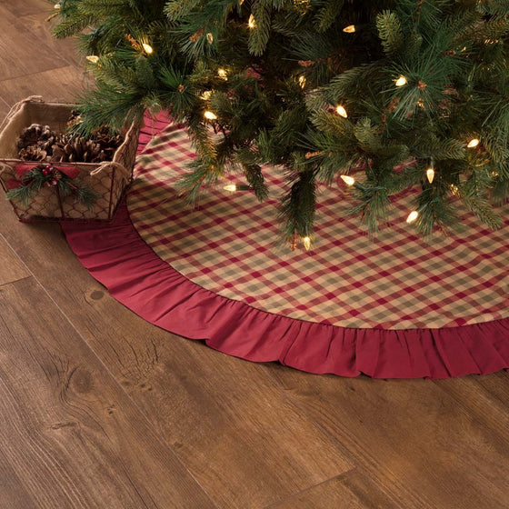Jonathan Plaid Tree Skirt