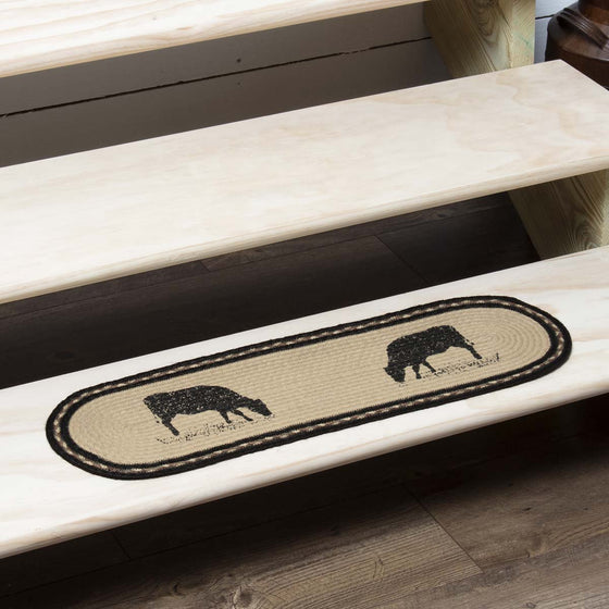 Sawyer Mill Cow Jute Stair Tread