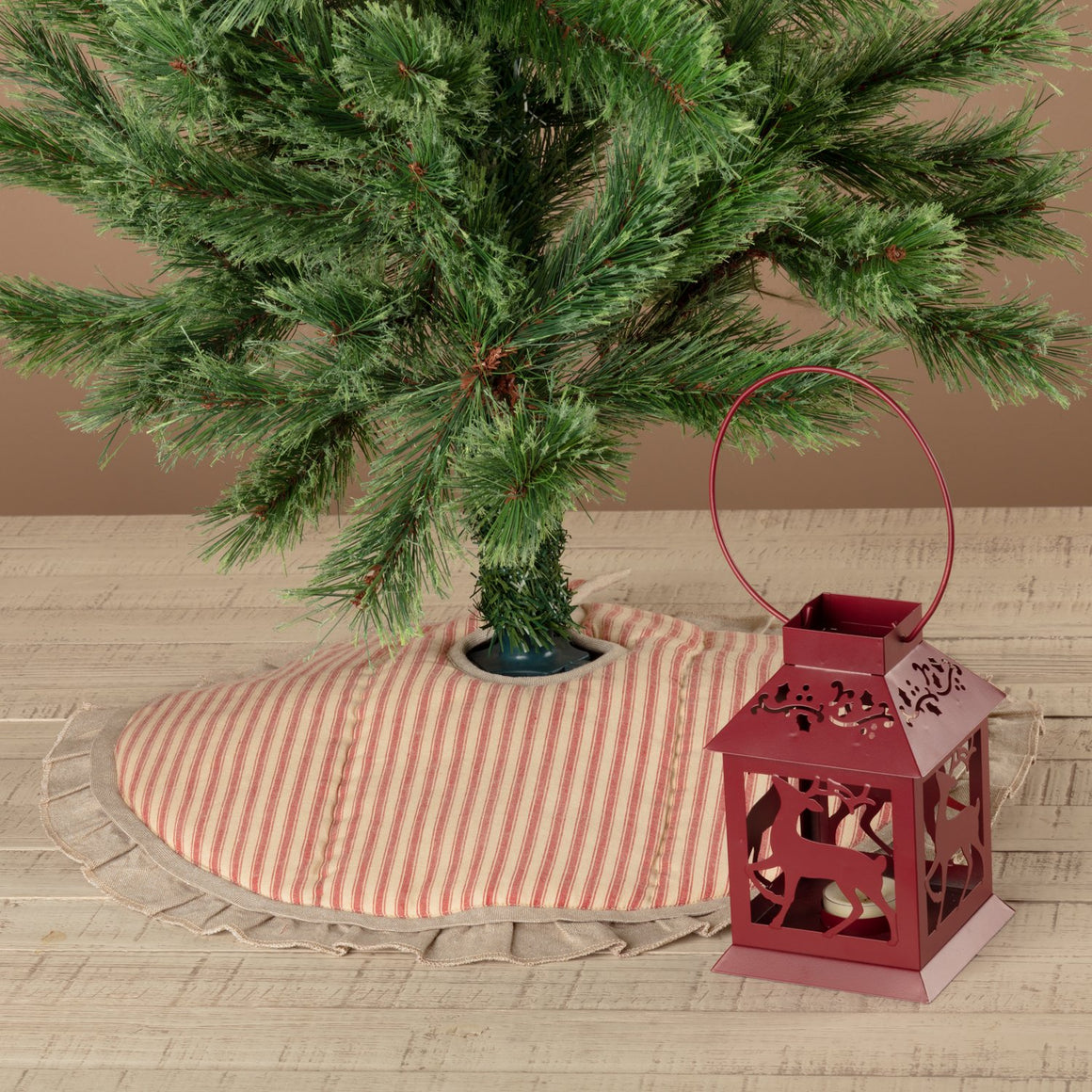 Sawyer Mill Ticking Stripe Tree Skirt