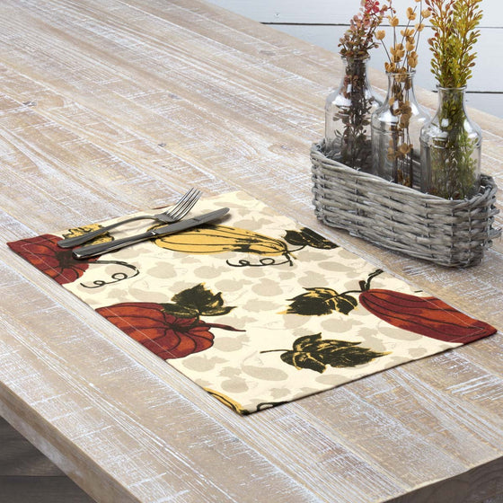 Harvest Garden Placemat Set of 6 12x18