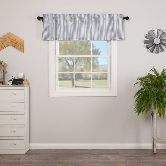 Sawyer Mill Ticking Stripe Valance