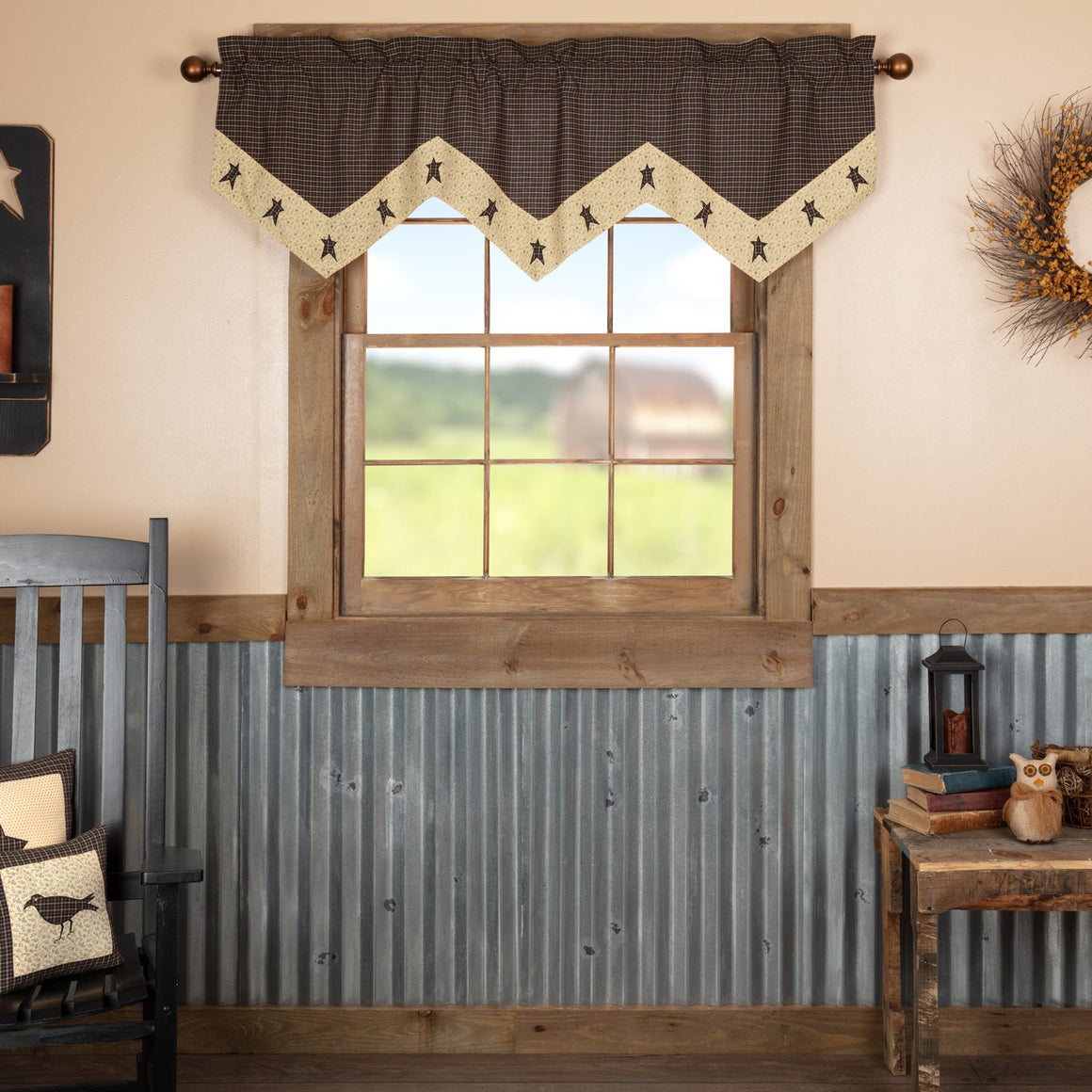 Kettle Grove Star Valance