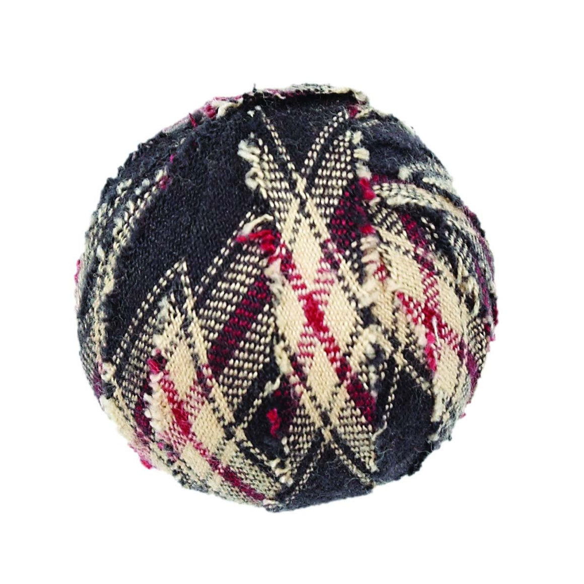 "Bingham Star Fabric Ball #1-1.5"" Set of 6"