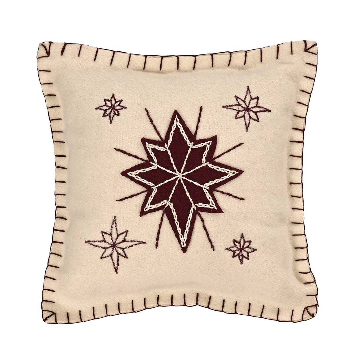 North Star Pillow 10x10