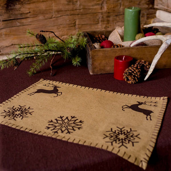 Prancer Placemat Set of 6 12x18