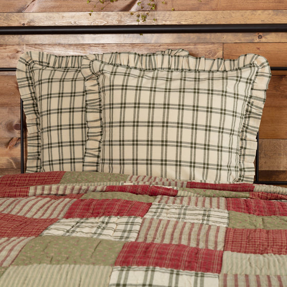 Prairie Winds Fabric Euro Sham 26x26