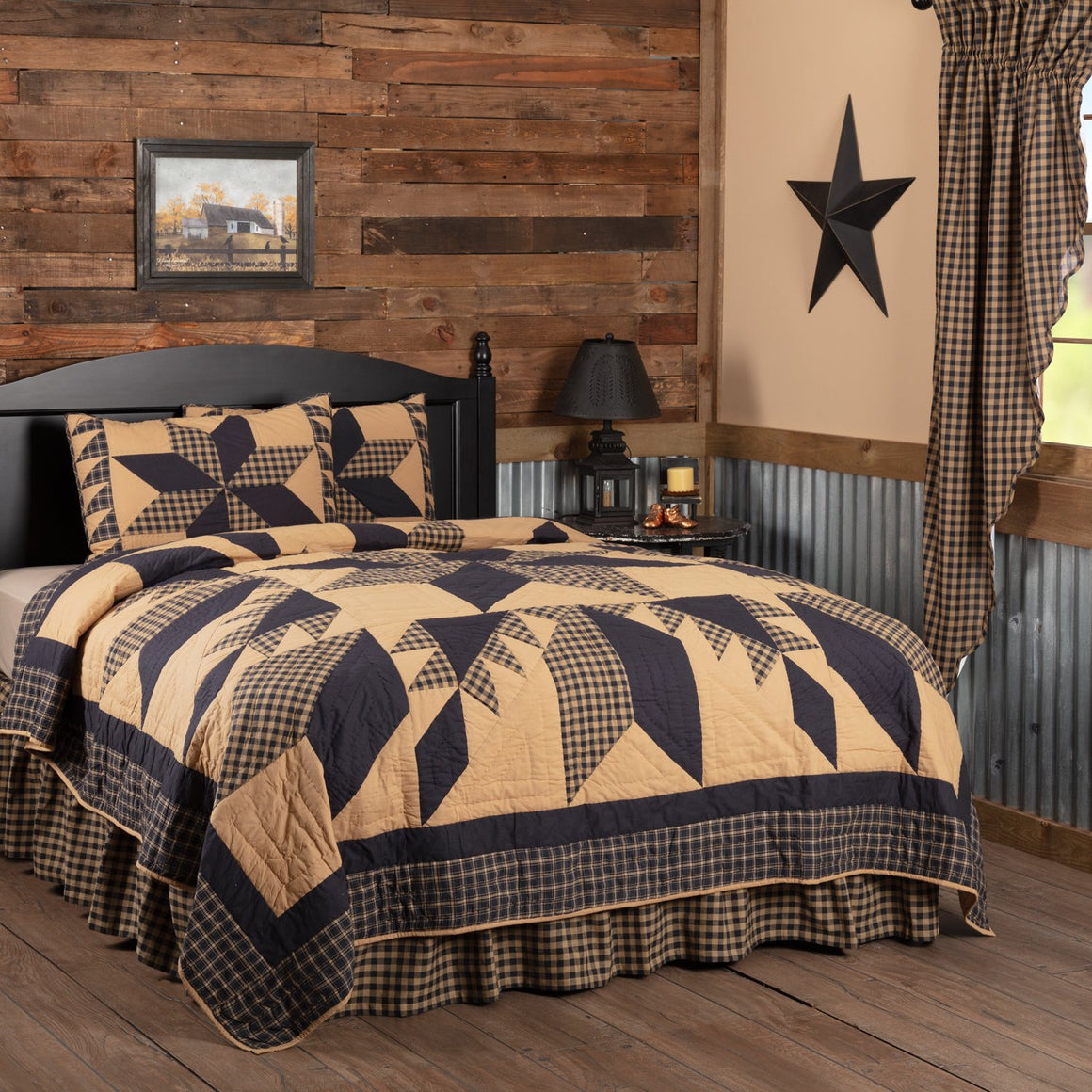 Dakota Star Quilt Set
