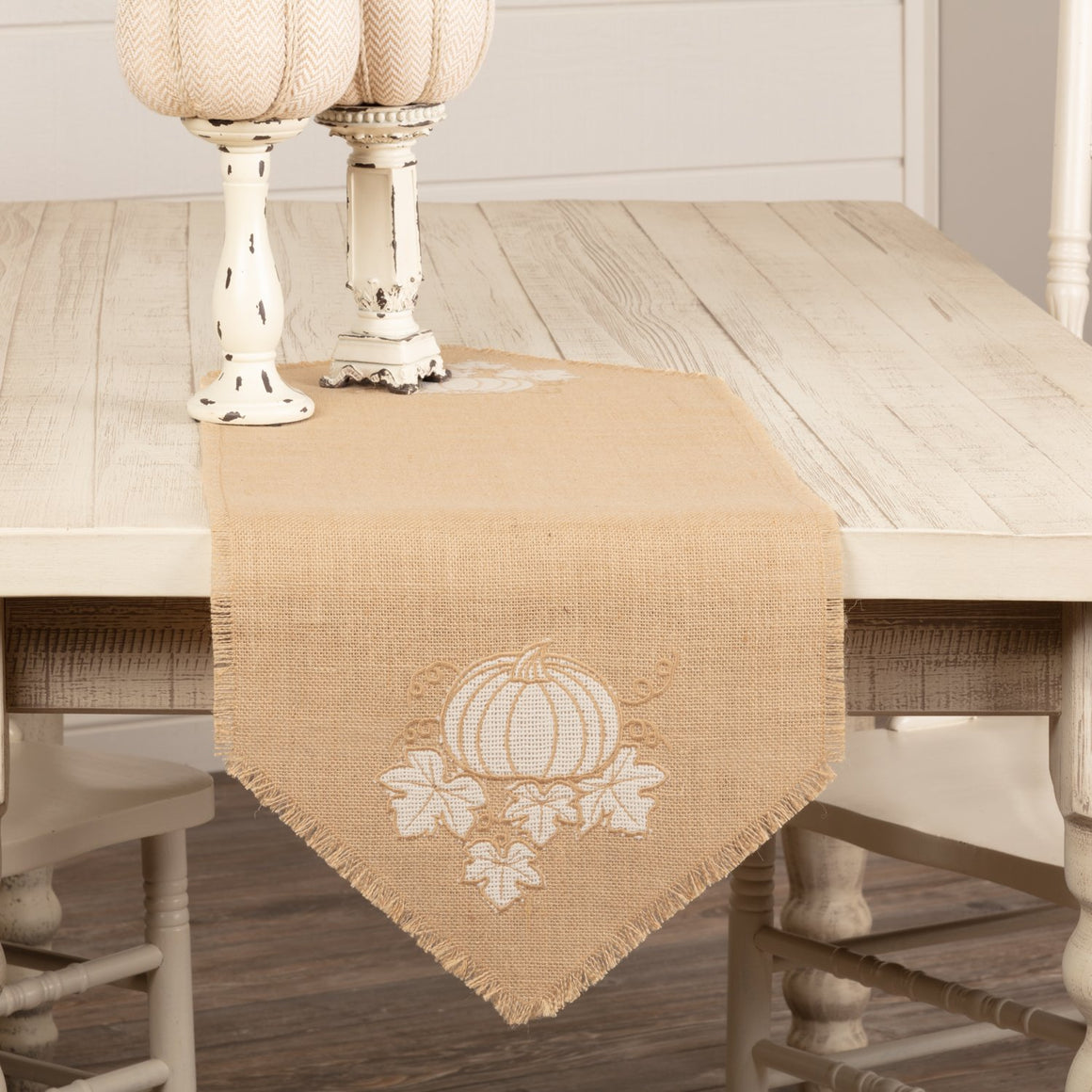 Jute Burlap Natural Harvest Garden Runner