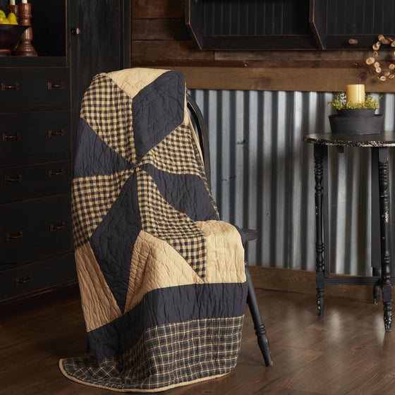 Dakota Star Quilted Throw 60x50