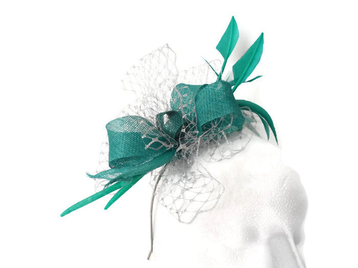 Jade delight Fascinator