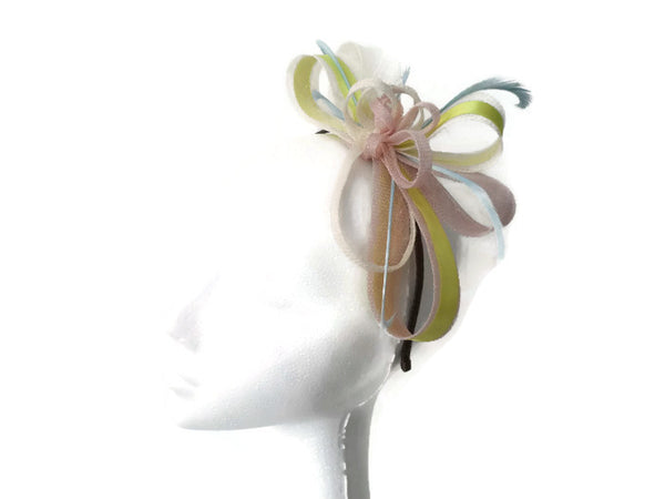 classic multi looped Fascinator