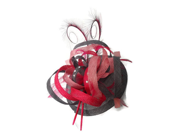 Phesant Curled Fascinator