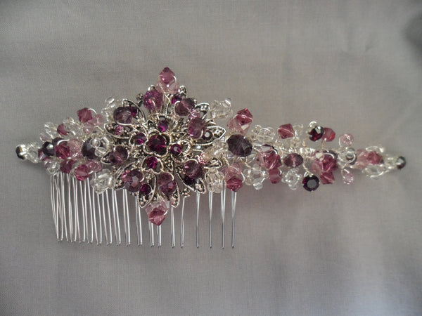Purple kisses hair Comb