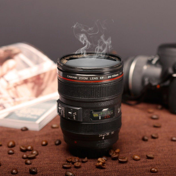 Mug - Shutterbug™ - The Camera Lens Coffee Mug - Free Shipping