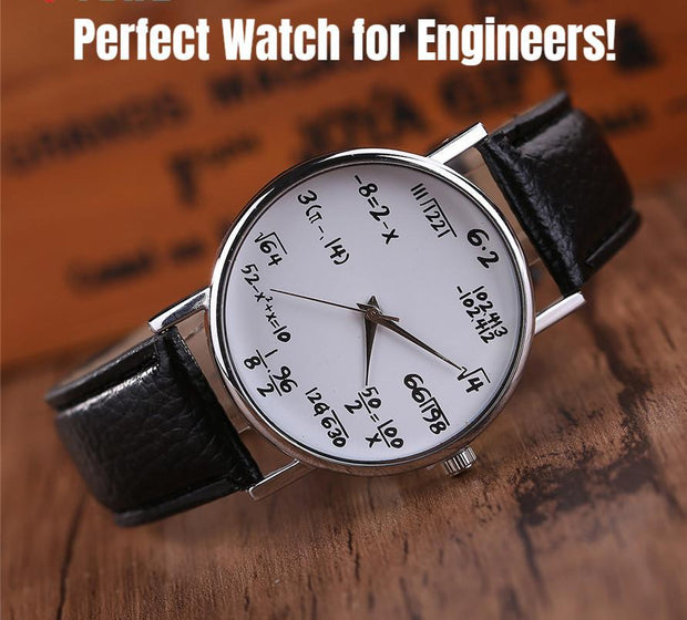 Watches - Perfect Math Watch For Engineers & Math Lovers!