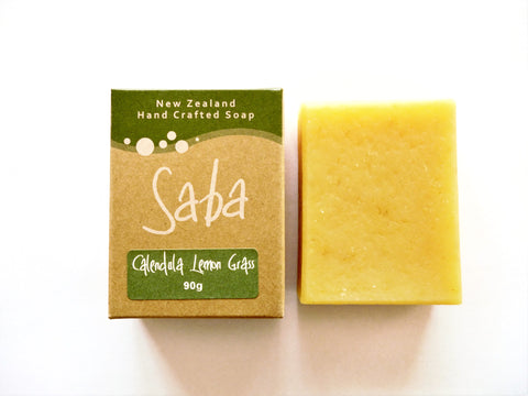 Handmade New Zealand Soap - Calendula Lemongrass