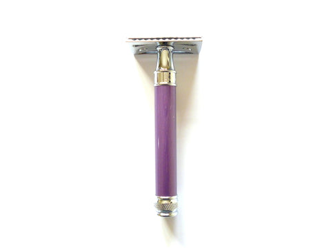 Edwin Jagger DE Safety razor DELLl extra long lilac handle