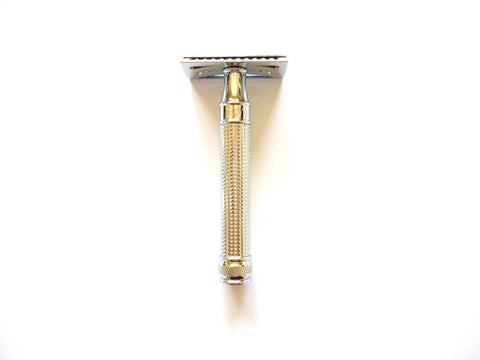 DE Safety Razor DE3 3D Diamond effect handle