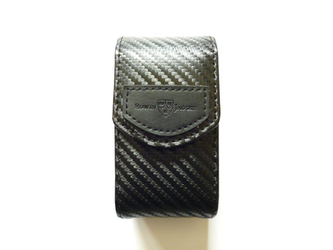 DE Razor Case (Black Carbon Fibre Effect)