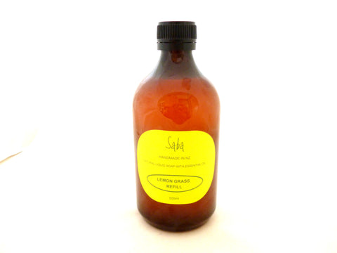 Lemon Grass liquid soap refill 500ml