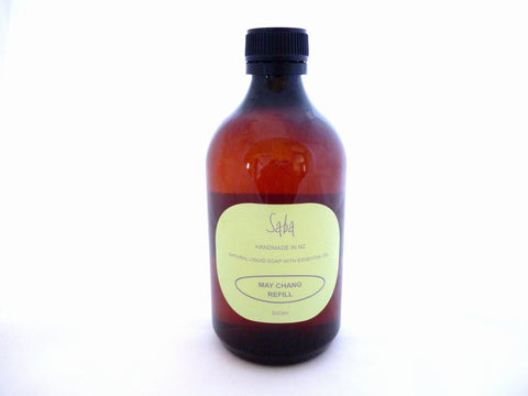 May Chang Natural liquid soap refill bottle 500ml